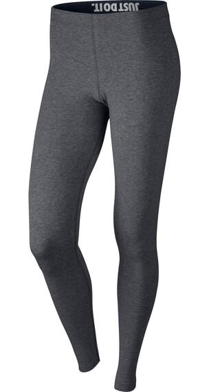 Nike Leg-A-See Logo - Pantalones Running Mujer - gris